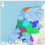 Kaart van de Long Term NL Challenge